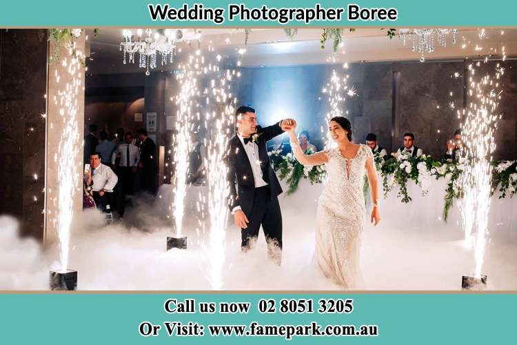 Photo of the Bride and the Groom dancing Boree NSW 2800