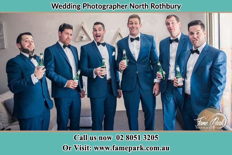 The Groom and the his secondary sponsors North Rothbury